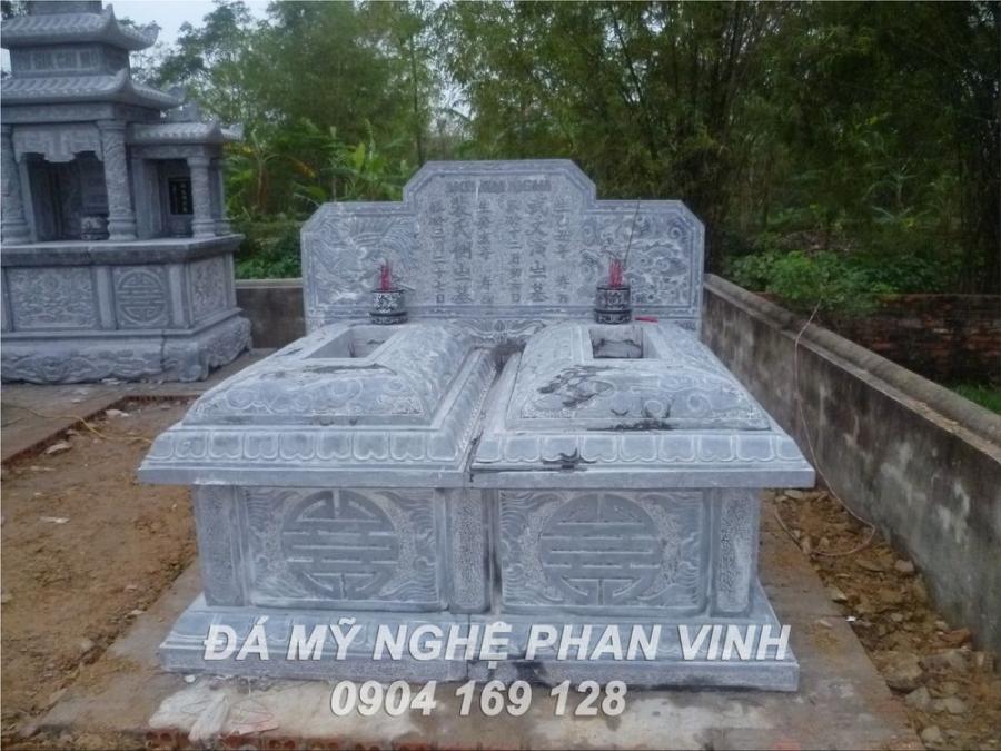Mộ đá đôi tam sơn, Mộ bành đá, mộ hậu bành